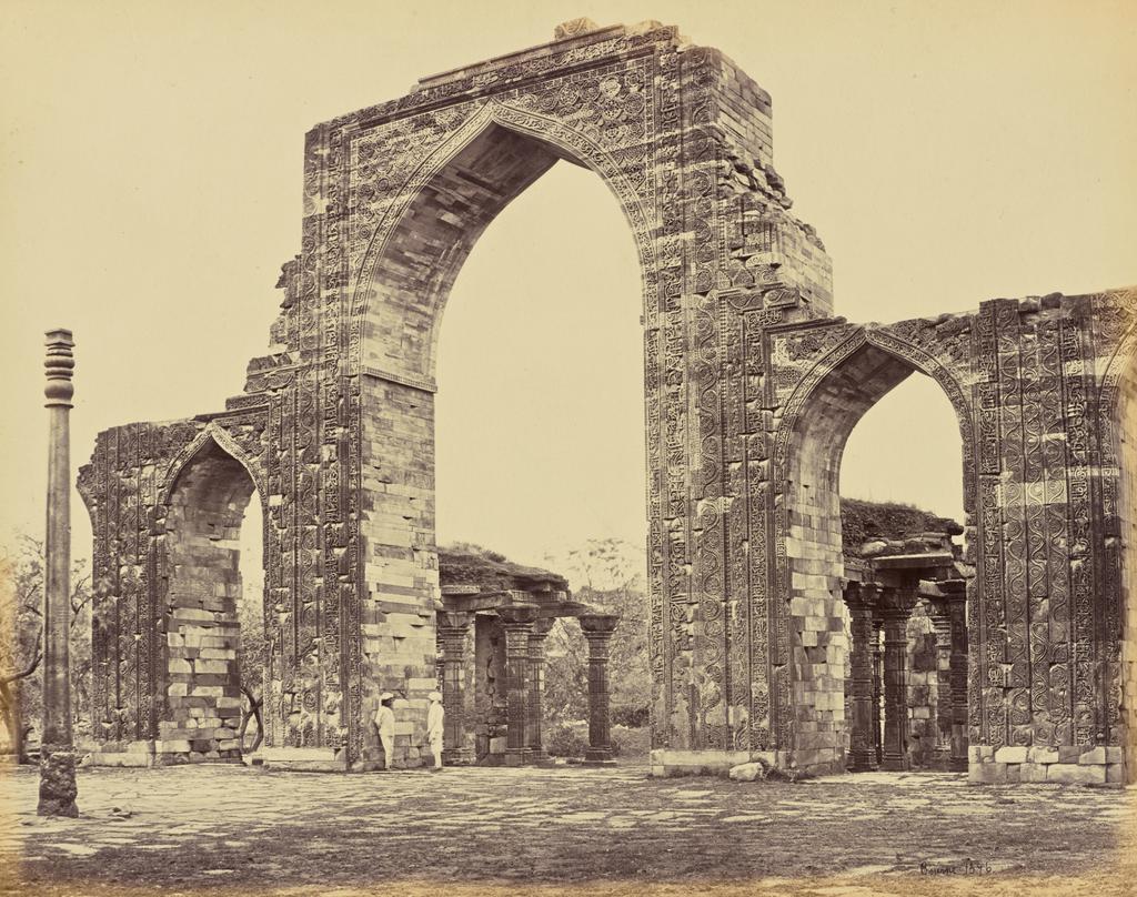 Железная колонна в 19 веке
