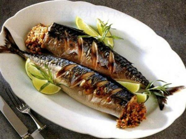 Скумбрия жаренная поегипетски рецепт с фото
