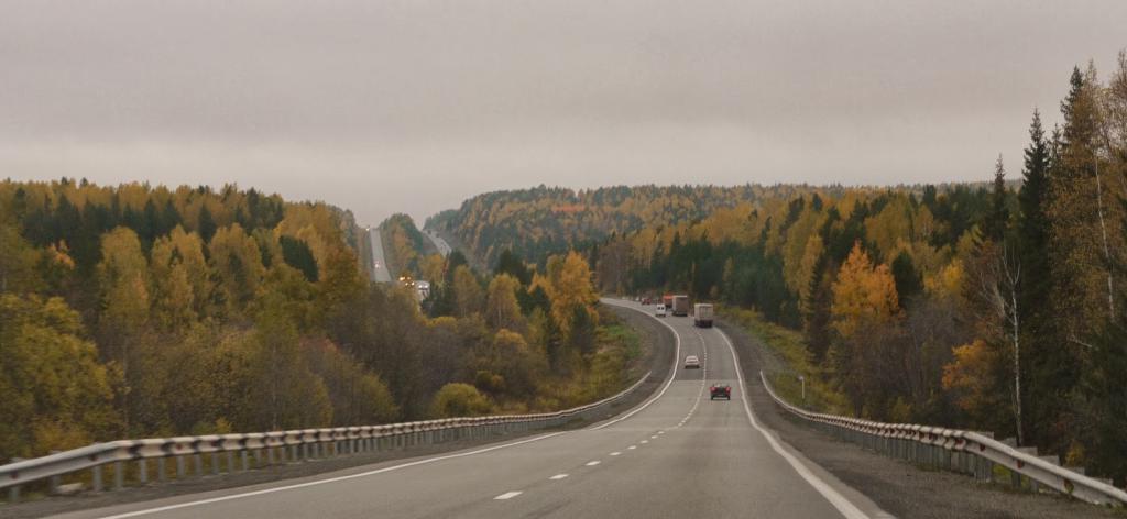 Дорога из Екатеринбурга в Нижний Тагил