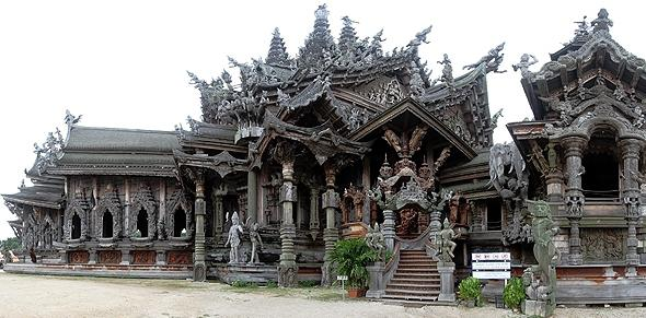 храм истины паттайя на карте