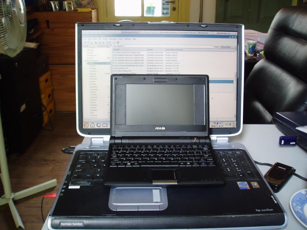 Размеры Asus EEE PC 4G