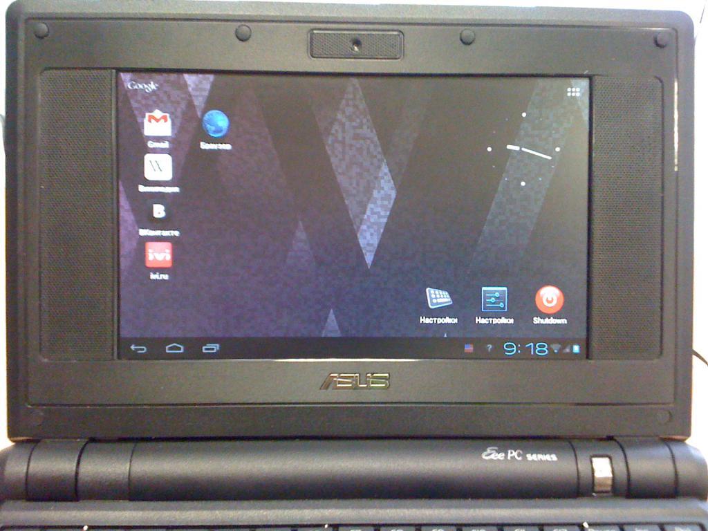 Экран Asus EEE PC 4G