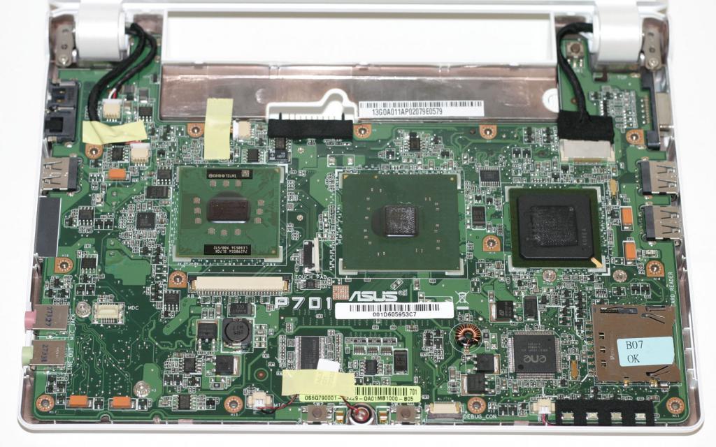 Характеристики Asus EEE PC 4G