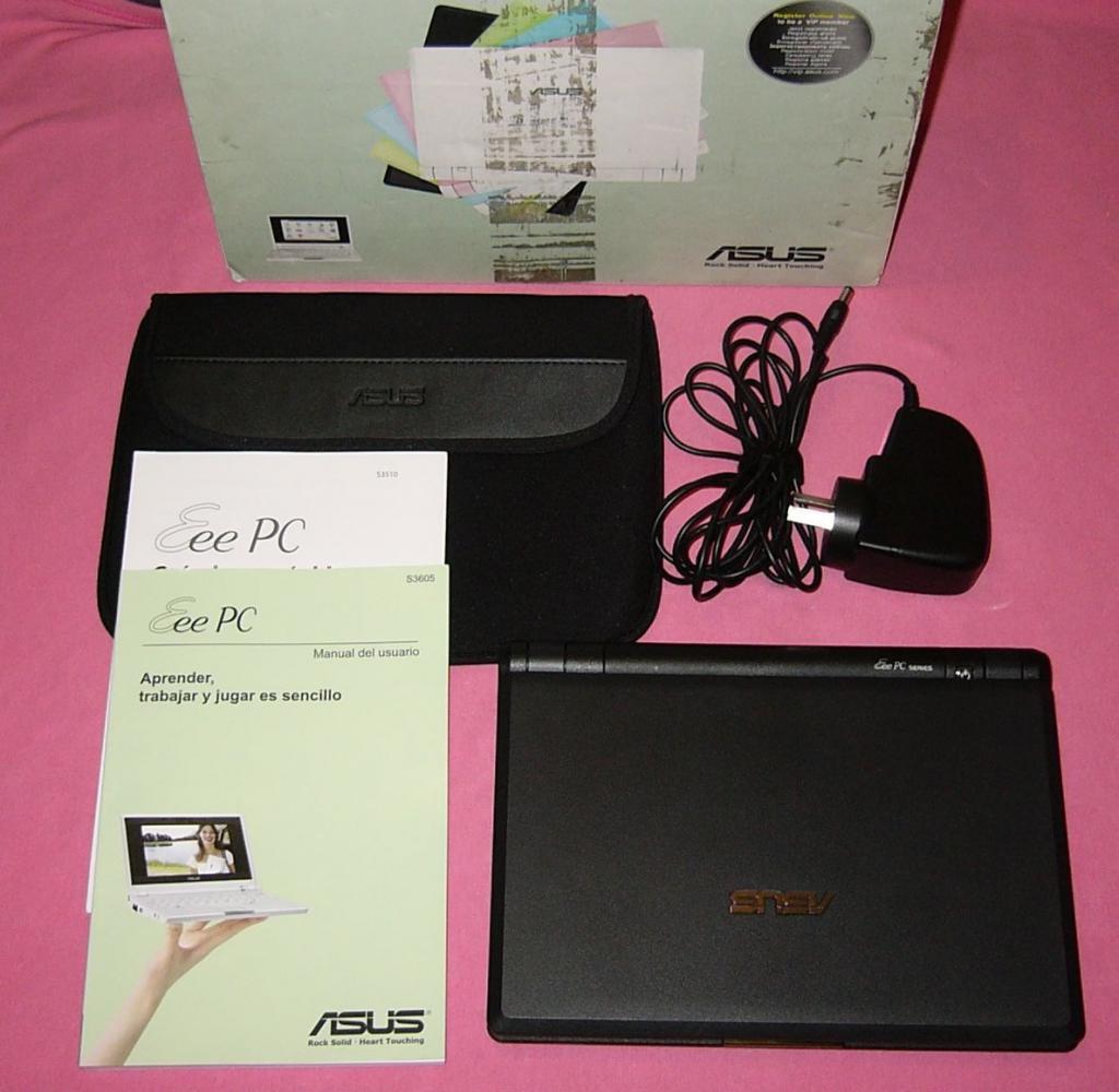 Комплектация Asus EEE PC 4G