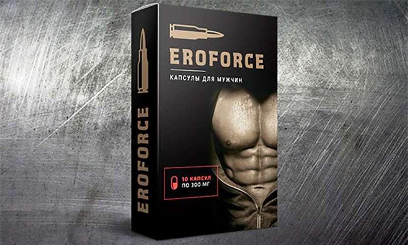 """Препарат для потенции """"Ero Force""""."""