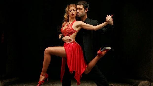 Танго влюбленные страсть