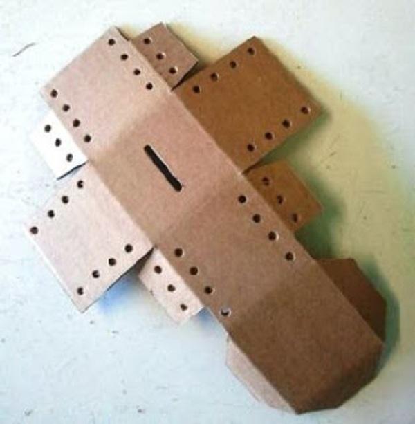 шаблон заготовки для копилки