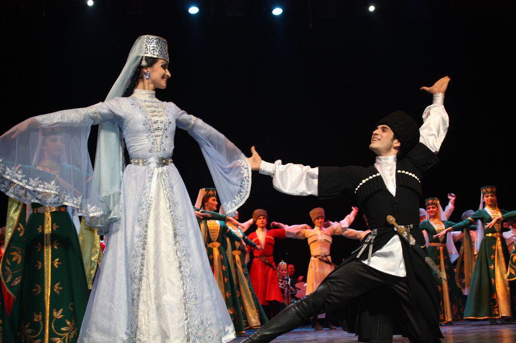 традиционные танцы в Абхазии