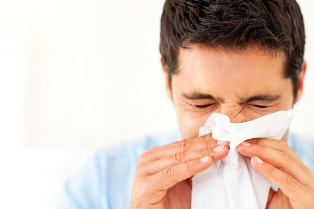Сильная аллергия