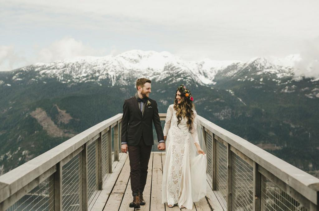 Свадьба на вершине