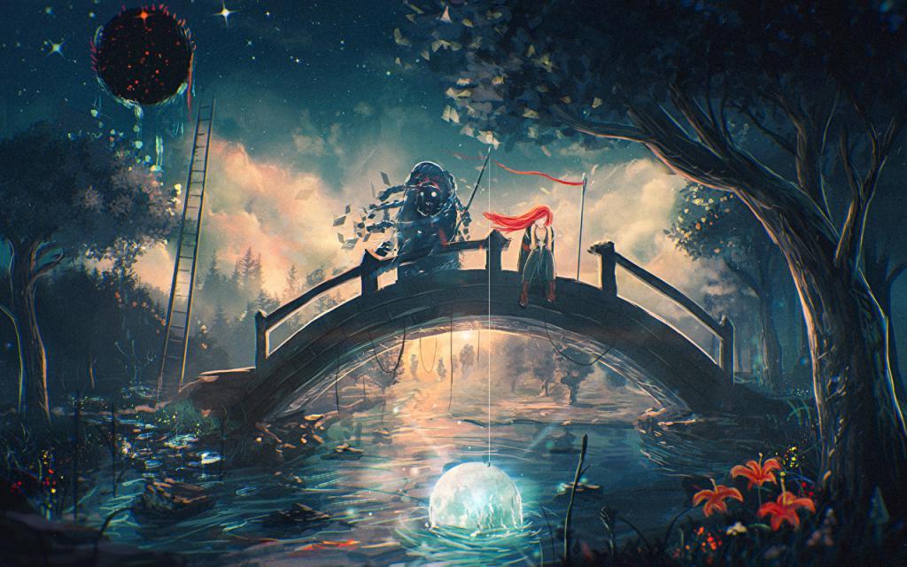 одиночество галлюцинации мост