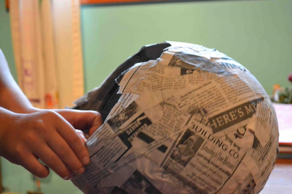 создание основы из бумаги