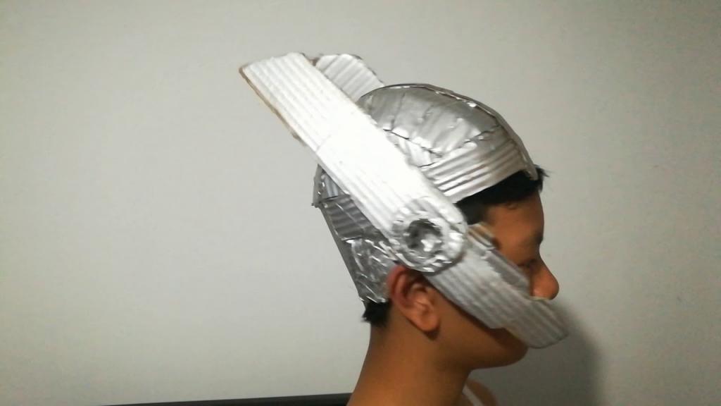 готовый шлем тора с отделкой