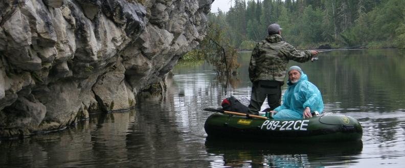 сплав по реке Лозьва