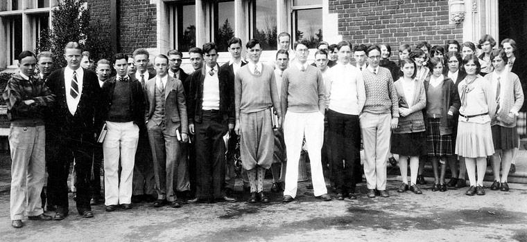Студенты начала 20 века