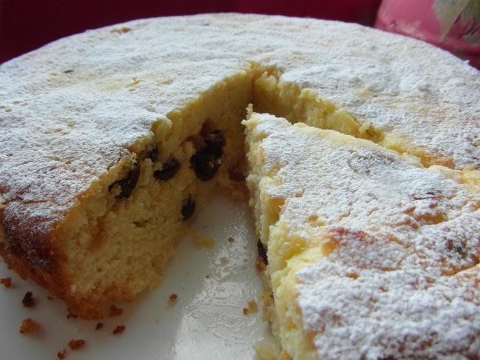 Простой творожный пирог рецепт в духовке с