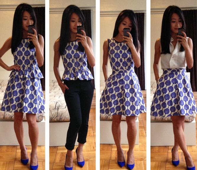 Как перешить старое платье