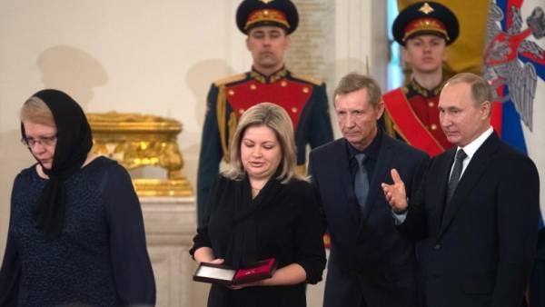 Родственники умершего Героя России тоже получают льготы