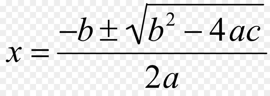 Формула для квадратного уравнения