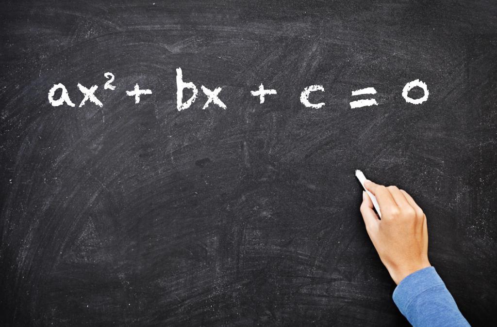 Общий вид квадратного уравнения