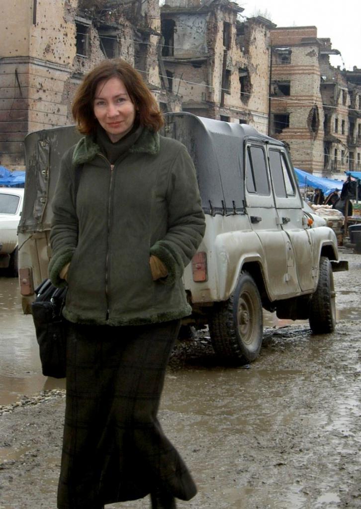 Наталья Эстемирова в Чечне