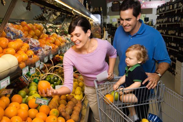 Семейный поход в магазин