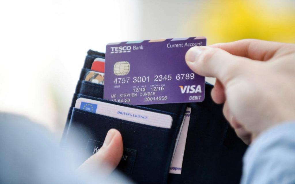 счет кредитной карты