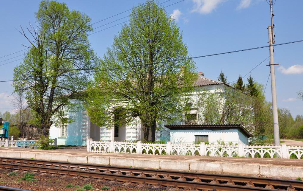 Здание станции Княжьи Горы