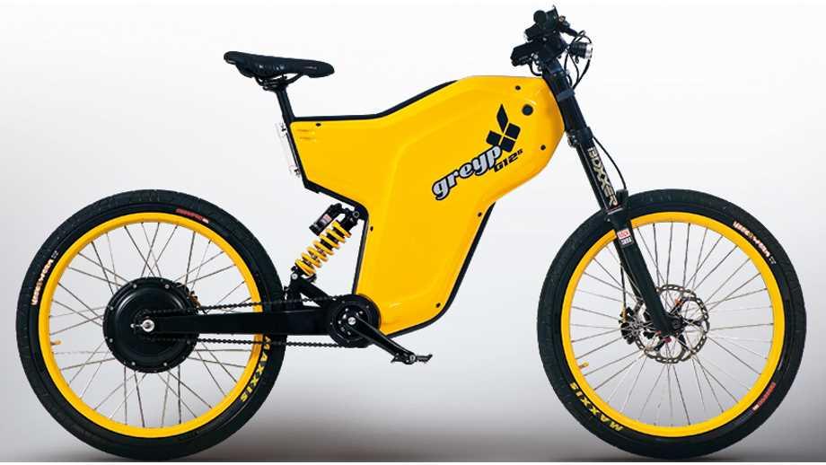Мощный велосипед Greyp G12