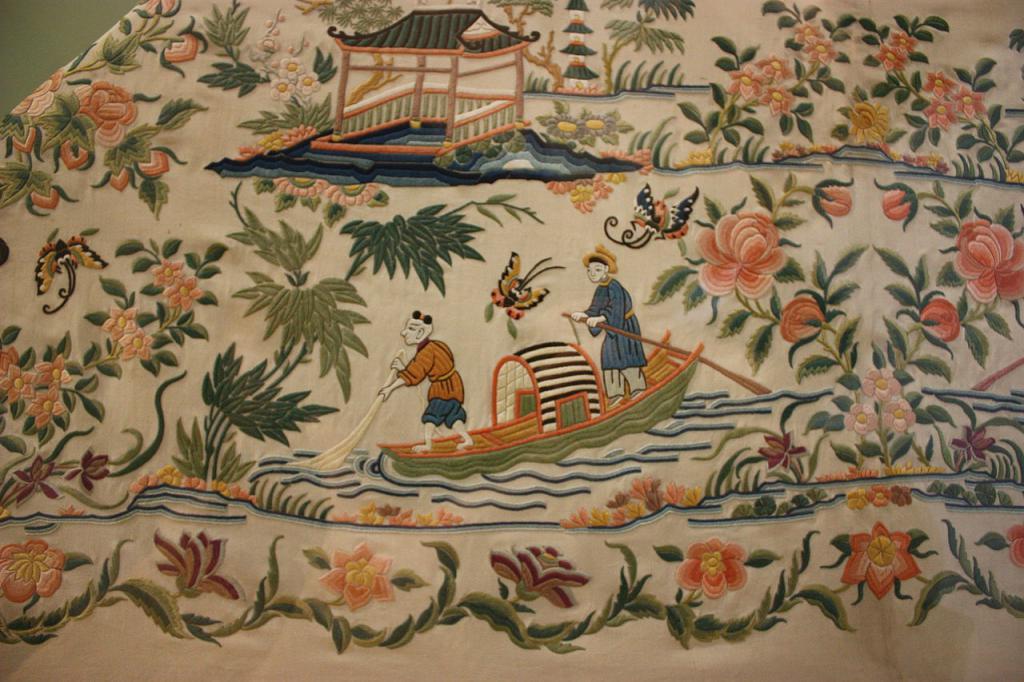 Древняя китайская вишивка
