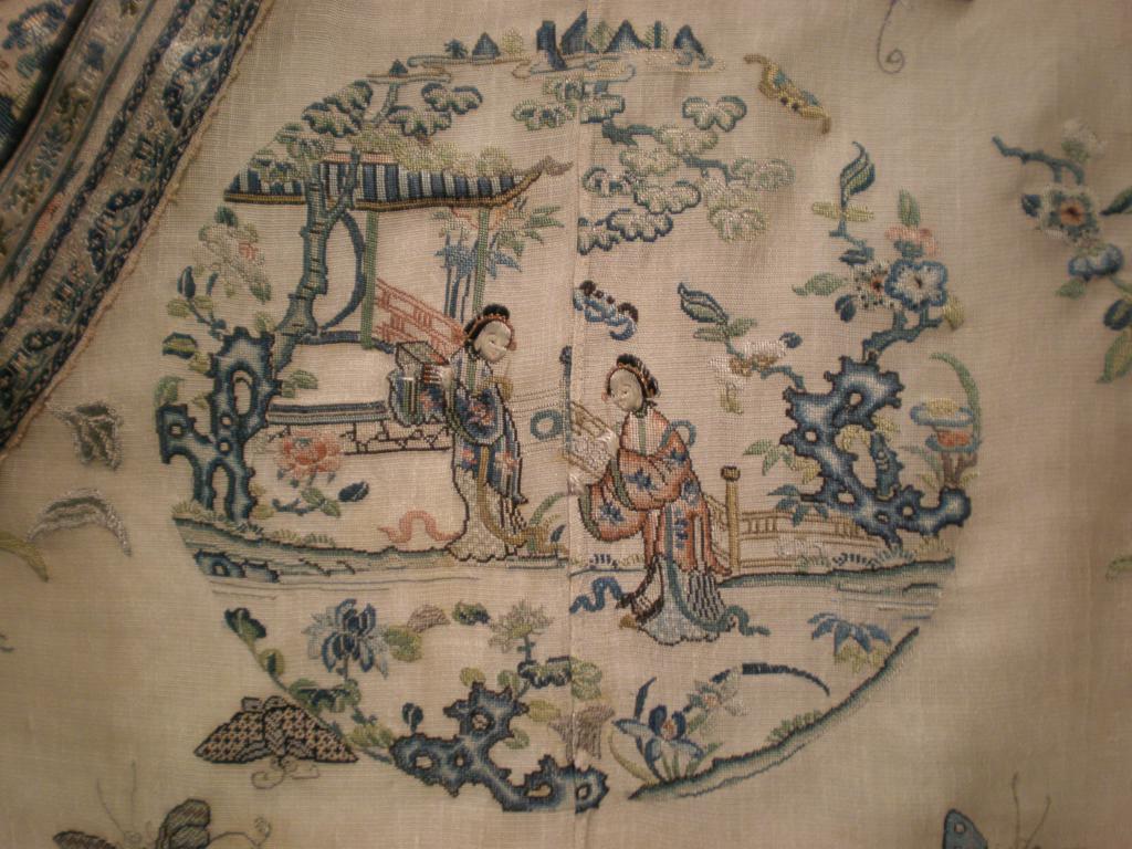 Древняя вышивка Китая