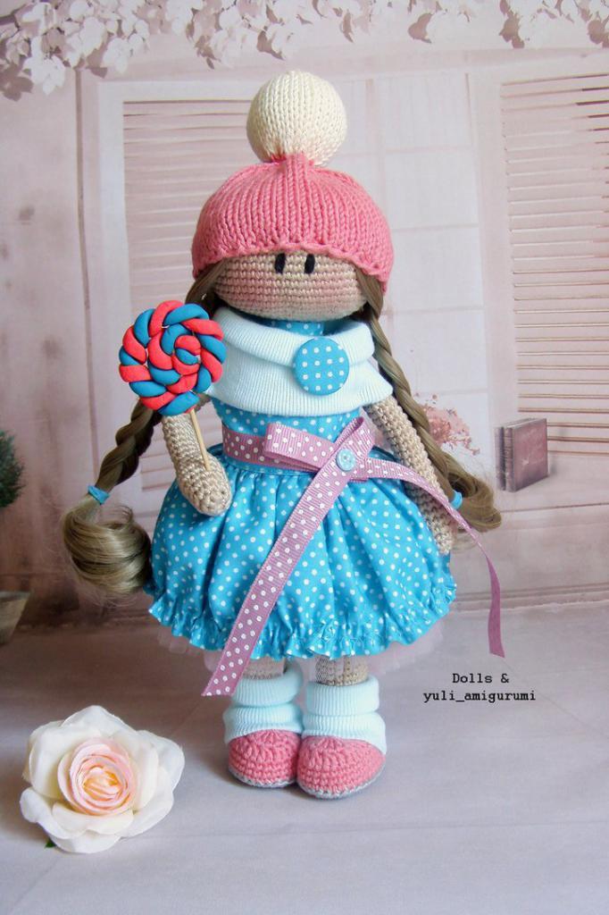 кукла вязаная амигуруми