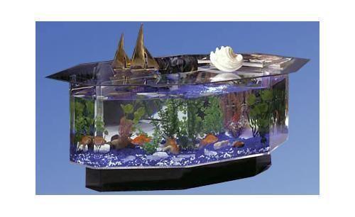 аквариум кофейный столик