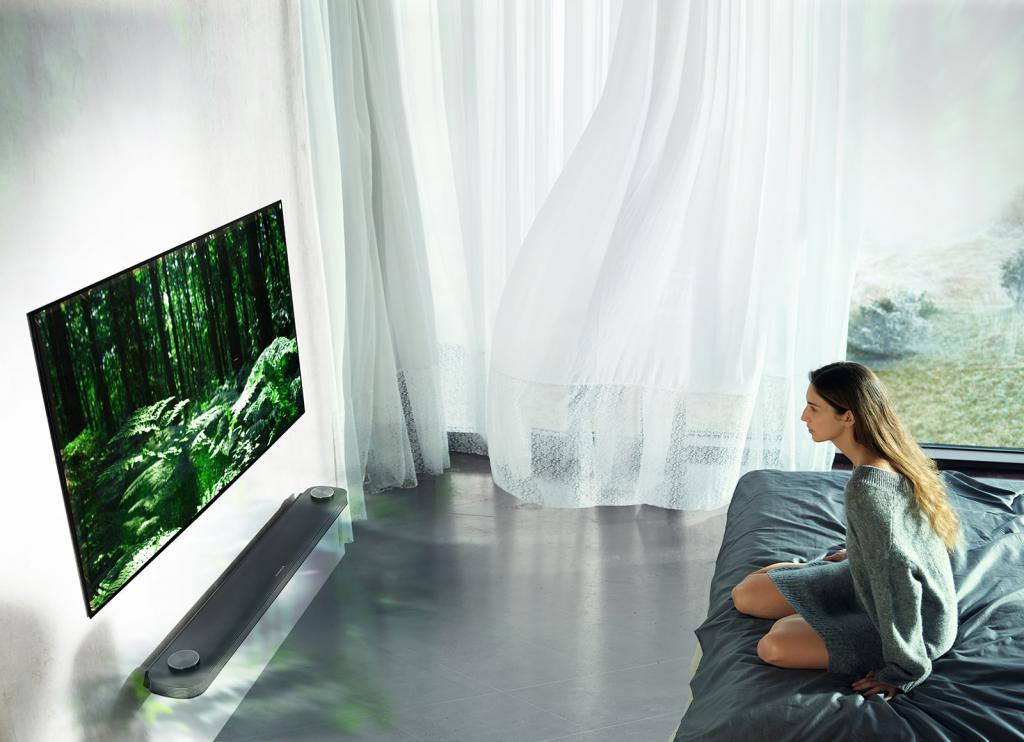OLED телевизор LG 55 дюймов OLED55B7V