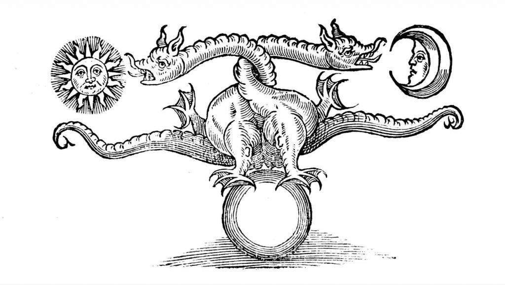 Рисунок на алхимическую тематику