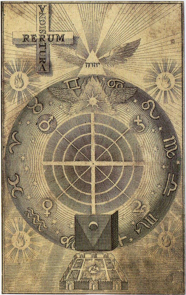 Иллюстрация из средневековой книги