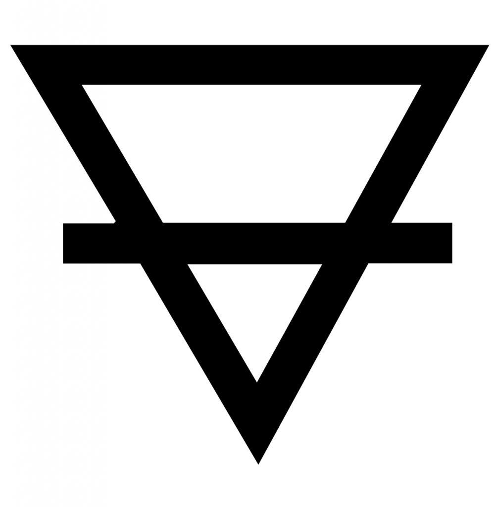 Алхимический символ земли