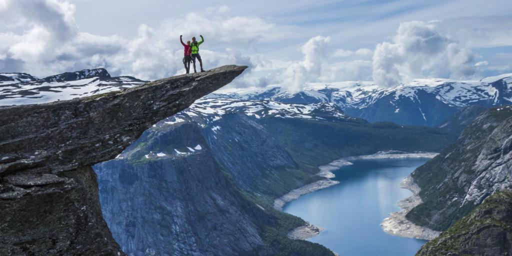 Круиз по фьордам Норвегии маршрут