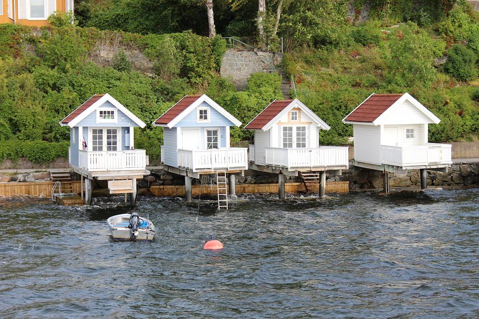 рыбацкие домики