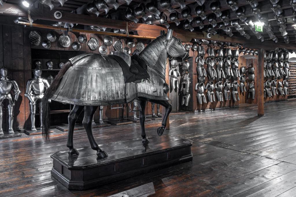 Экспонаты музея-арсенала