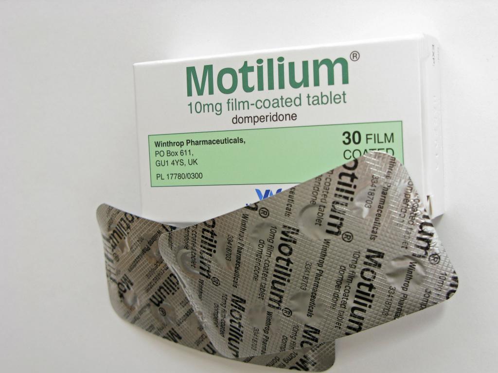 """""""Мотилиум"""" таблетки от тошноты"""