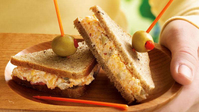закрытые бутерброды с начинкой