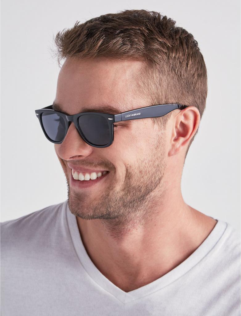 Квадратные мужские очки от солнца