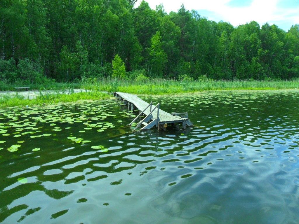 Озеро Окунева