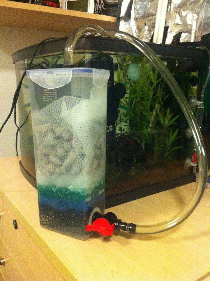 Внешний фильтр для маленького аквариума
