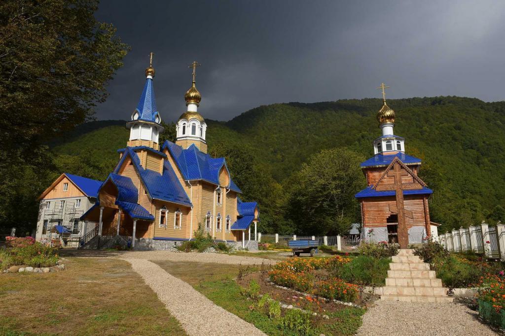 поселок псху абхазия