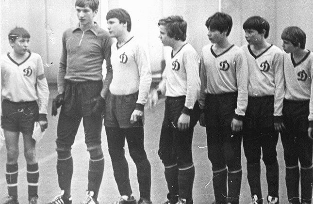 Юношеская команда Динамо