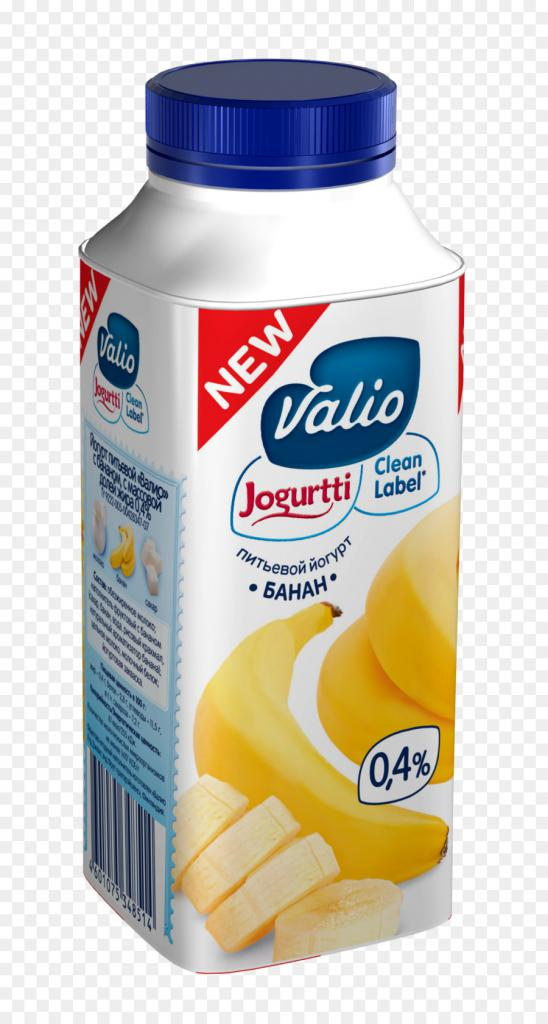 Питьевой йогурт валио