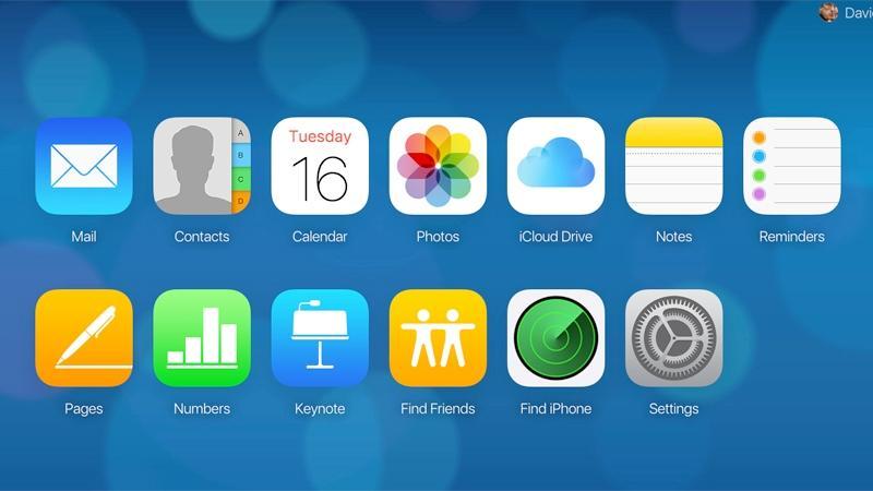 Вход в iCloud через браузер