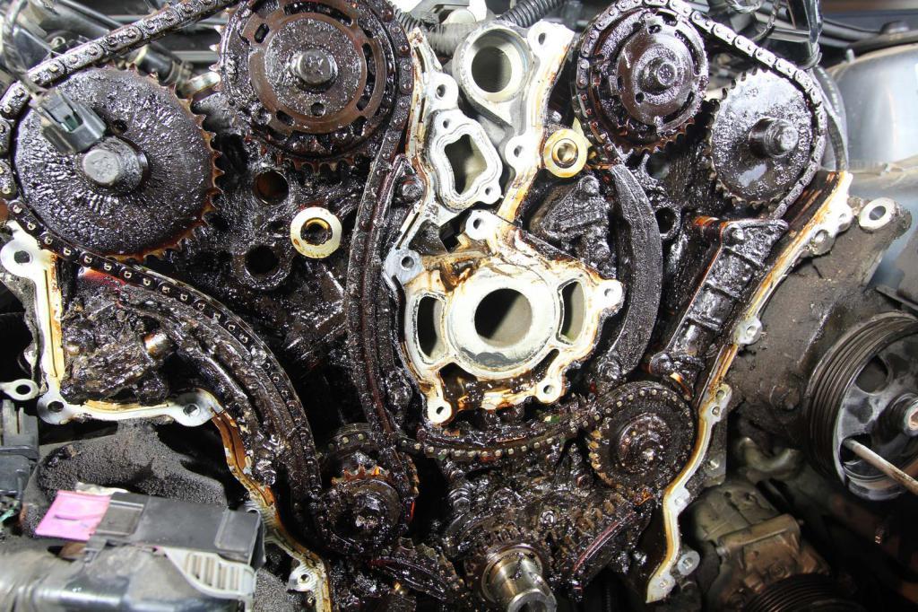 испорченный двигатель